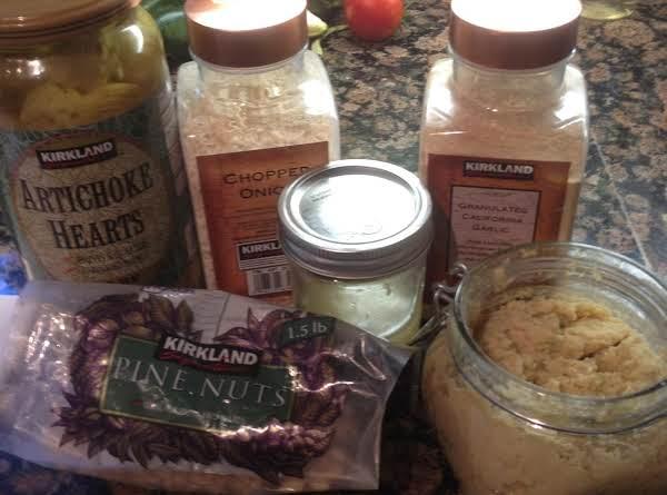 Homemade Artichoke Pesto Recipe