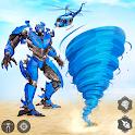 Tornado Robot Transform: Robot Transforming Games icon