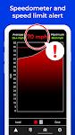 screenshot of Radarbot Free: Speed Camera Detector & Speedometer