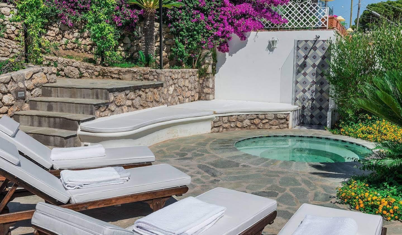 Villa avec jardin et terrasse Capri