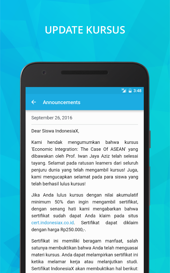 IndonesiaX- screenshot