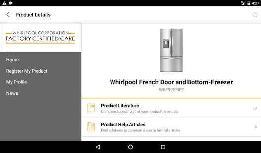 Customer service by whirlpool apps on google play - Whirlpool service client ...