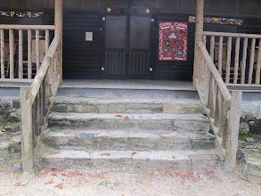 Photo: Lodge Porch Stairs