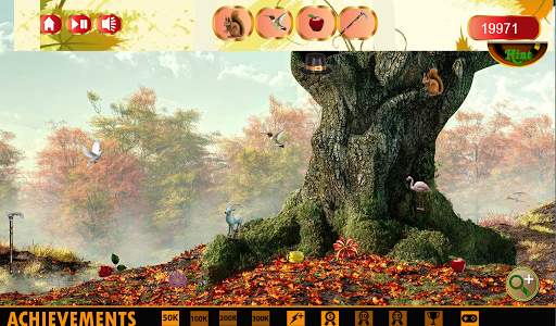 Hidden Object Fall Cleaning