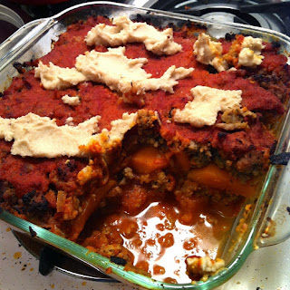Paleo Butternut Squash Lasagna with Cashew Cheese