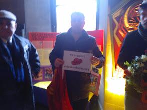 Photo: Ayuntamiento de Manchester 02/09/2014.Homenaje a las BBII. Más amigos muestran su apoyo a #VidasContadas.