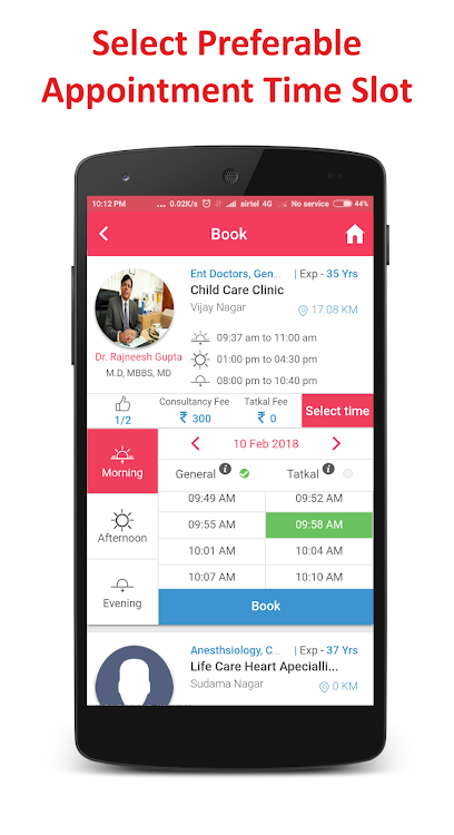 Otboo-Doctor Appointment Booking & Live Queue App – (Android