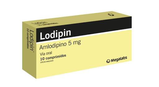 Amlodipina Lopidin 5Mg 10Comp Megalabs