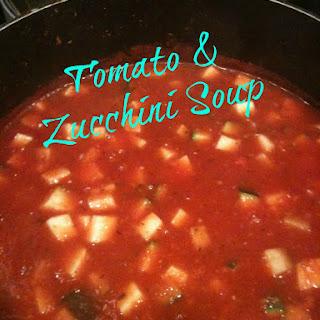 Tomato & Zucchini Soup