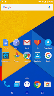 Holo Launcher – Miniaturansicht des Screenshots