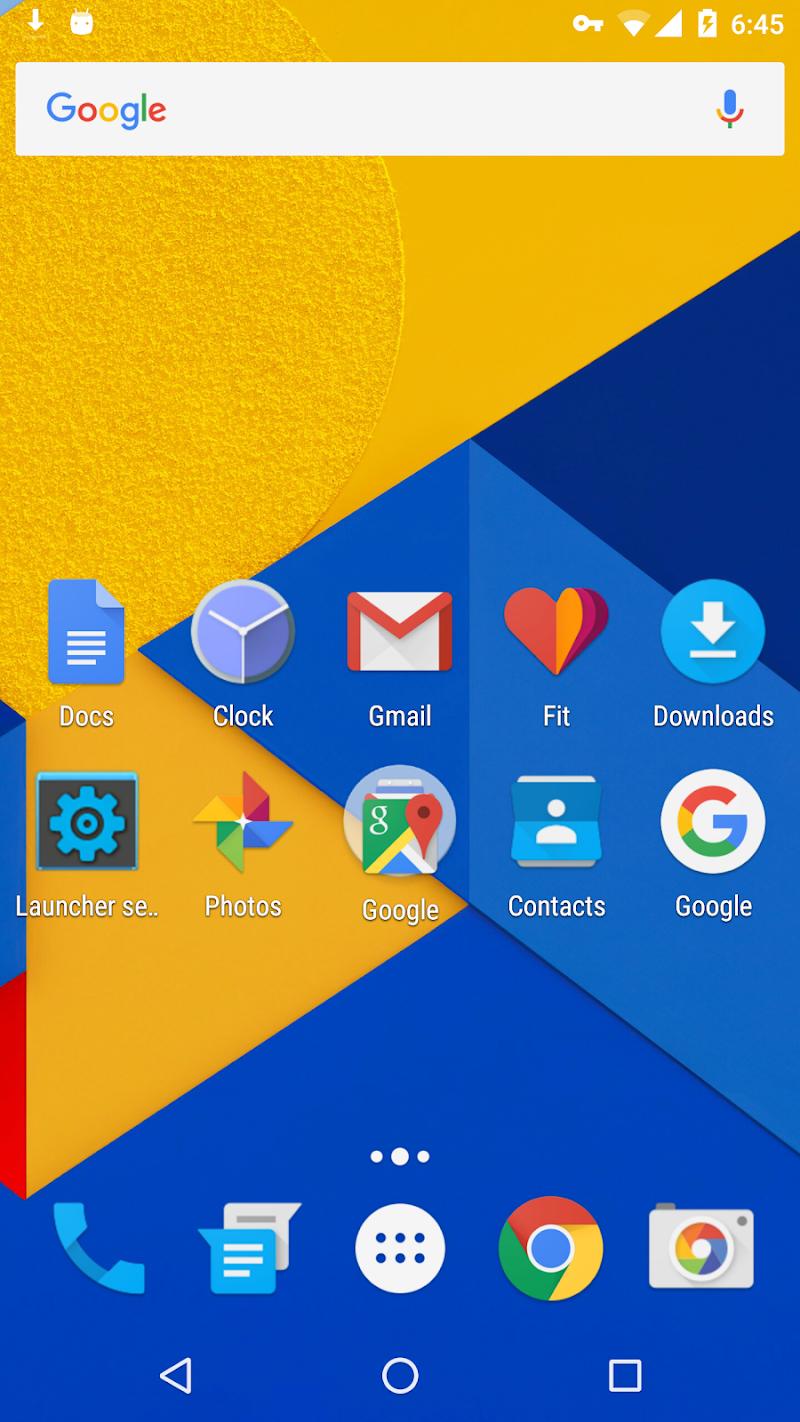 Holo Launcher Screenshot
