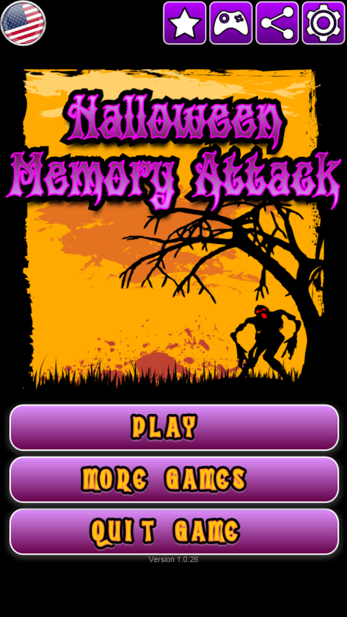 Halloween Memory Attack- screenshot