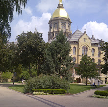 Photo: Golden Dome, Notre Dame campus, South Bend IN YRE