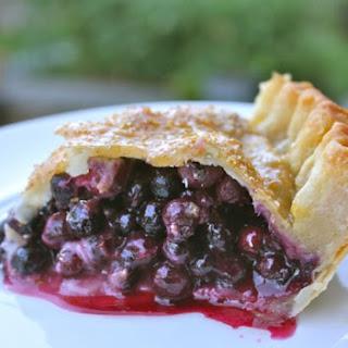 Canadian Prairie Saskatoon Berry Pie
