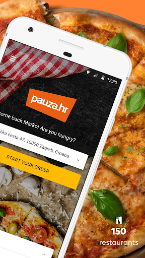 Pauza.hr Food Delivery - screenshot