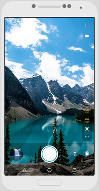 Footej Camera - στιγμιότυπο οθόνης
