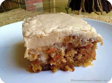 Gooey Cinnamon Carrot Cake