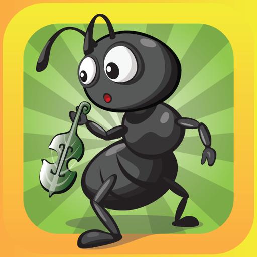 Ant&Grasshopper:3D Story Book (app)
