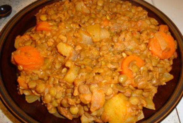 Traditional Spanish Lentils Recipe