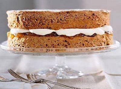 German Coffee Sponge Cake Recipe