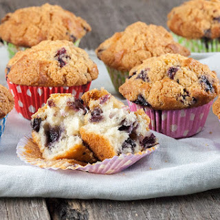 Buttermilk Blueberry Muffins Recipe