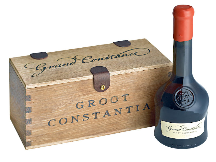 Grand Constance, famously Napoleon's drink of choice when he was exiled, is one of the limited editions being released by Groot Constantia