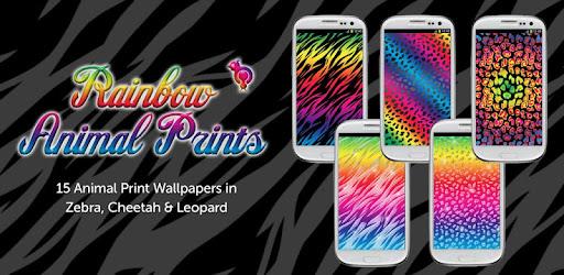 Descargar Rainbow Animal Print Wallpaper Para Pc Gratis