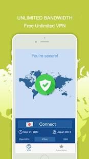 VPN Easy Speed Encrypted Secure & Private online - náhled