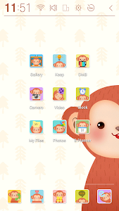 Happy Monkey Year Atom Theme screenshot 1