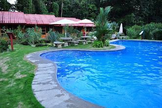 Photo: Hacienda Baru's new cabinas and pool