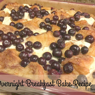 Overnight Breakfast Bake