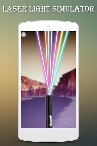 Laser Light Simulator