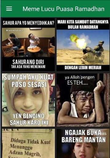 скачать Dp Meme Lucu Puasa Ramadhan Google Play Softwares