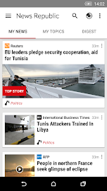 News Republic – Breaking news Screenshot 4