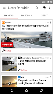 News Republic – Breaking news - screenshot thumbnail