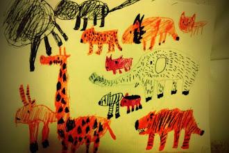 Photo: この中に絶滅した動物がいます