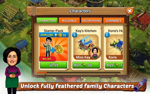 Duck Dynasty® Family Empire MOD (Unlimited Gold) 8
