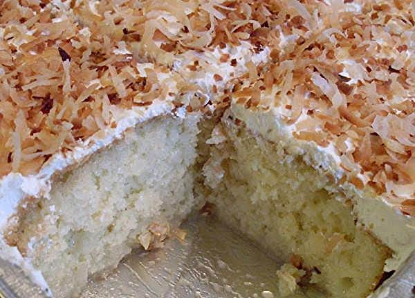 Coconut Poke Cake Recipe