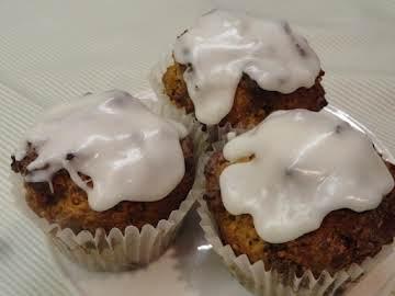 Lemon Date Muffins - Healthy