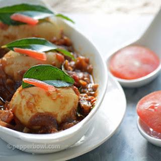 Egg Gravy Chettinad Style / Muttai Thokku