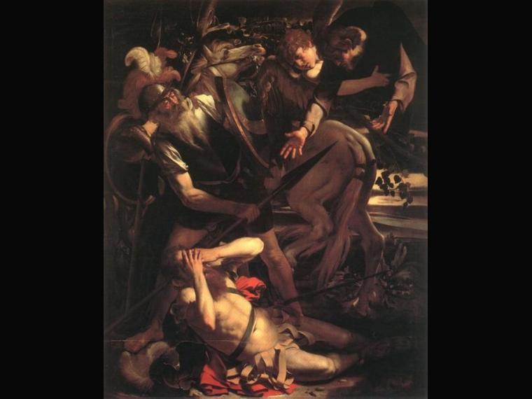 La conversión de San Pablo (1600-1601)