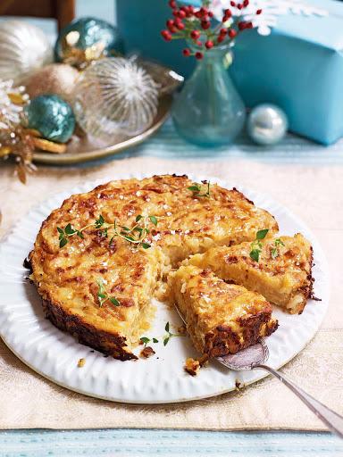 Michel Roux Jr's Lyonnais potato cake