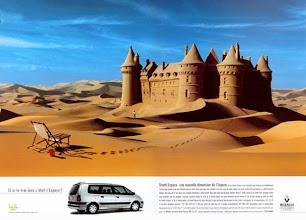 Photo: Annonce pour Renault, 1999, (Agence Publicis)