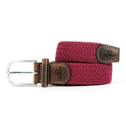 BillyBelt Braid belt burgundy