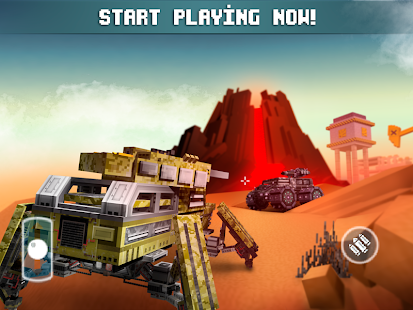 Blocky Cars – Online Shooting Game v 7 2 3 Hack MOD APK