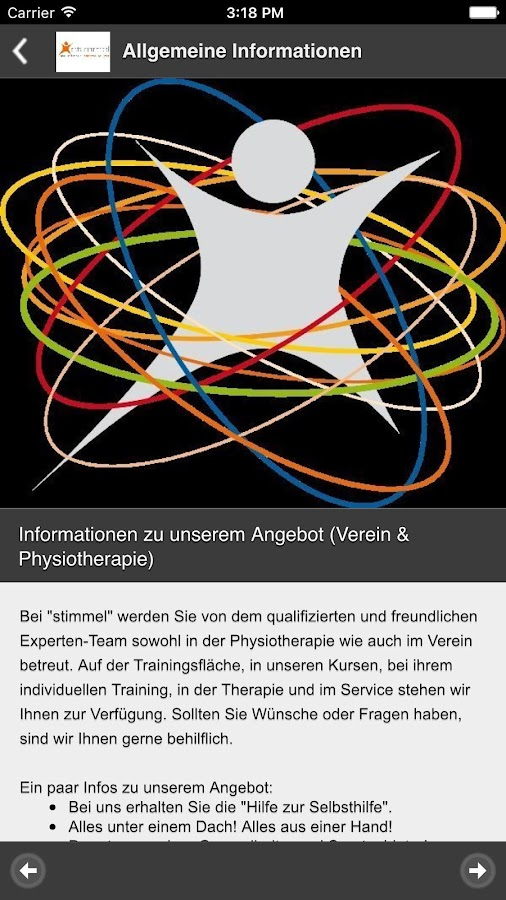 Stimmel-App- screenshot