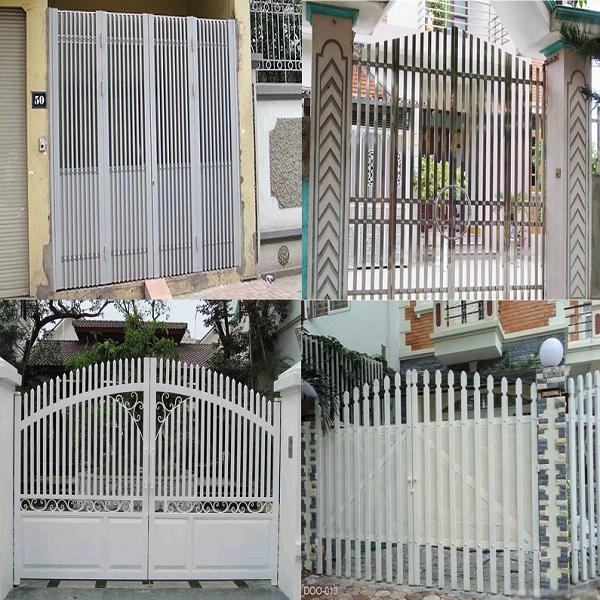 Mẫu cổng cửa sắt đẹp hiện đại