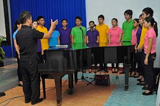 Photo: The ADNU Choir
