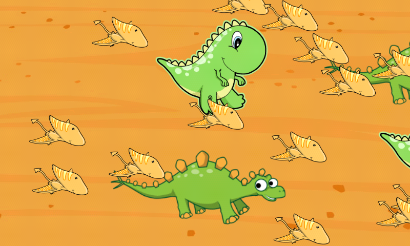 Dinosaurs game for Toddlers- screenshot
