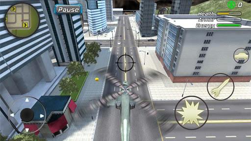 Crime Angel Superhero - Vegas Air Strike 1.0.8 screenshots 22
